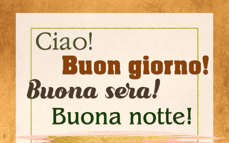 Как приветствовать итальянца