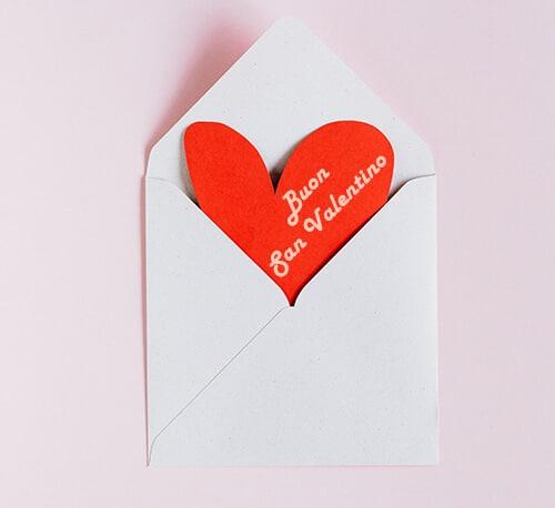 С Днем святого Валентина на итальянском
