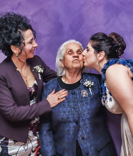 Поздравления для пожилой женщины на итальянском языке
